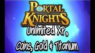 Portal Knights Unlimited Gold, XP, Coins, Titanium Glitch! Console Edition