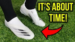 THEY DON'T SUCK! - Adidas X Ghosted.3 Laceless - Review Test + Feet