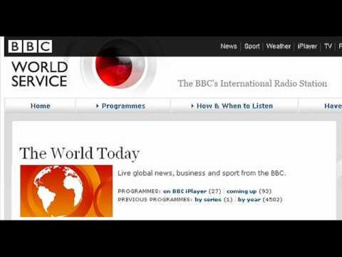 Chris Whyatt on BBC World Service's World Today