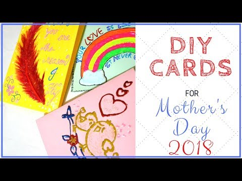 3 DIY Handmade Greeting cards I Mother's Day Card ideas I Creative and Easy