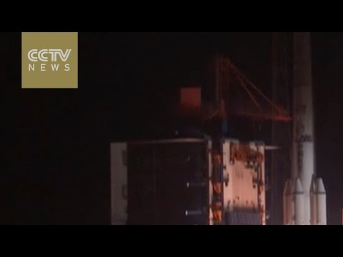 China-made communications satellite launched for Belarus