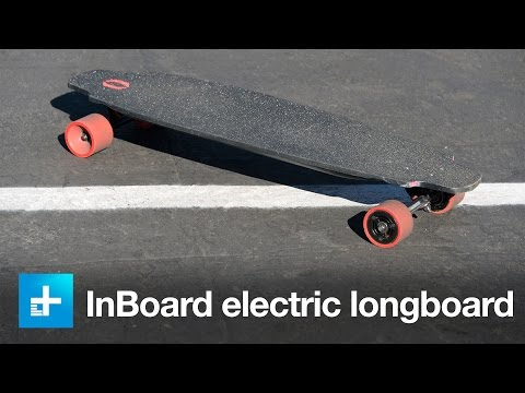 InBoard electric longboard - Hands (feet?) on at CES 2016