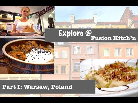 Polish Food Tour | Taste Test Traditional Cuisine | Polnische Spezialitäten | Warsaw Food
