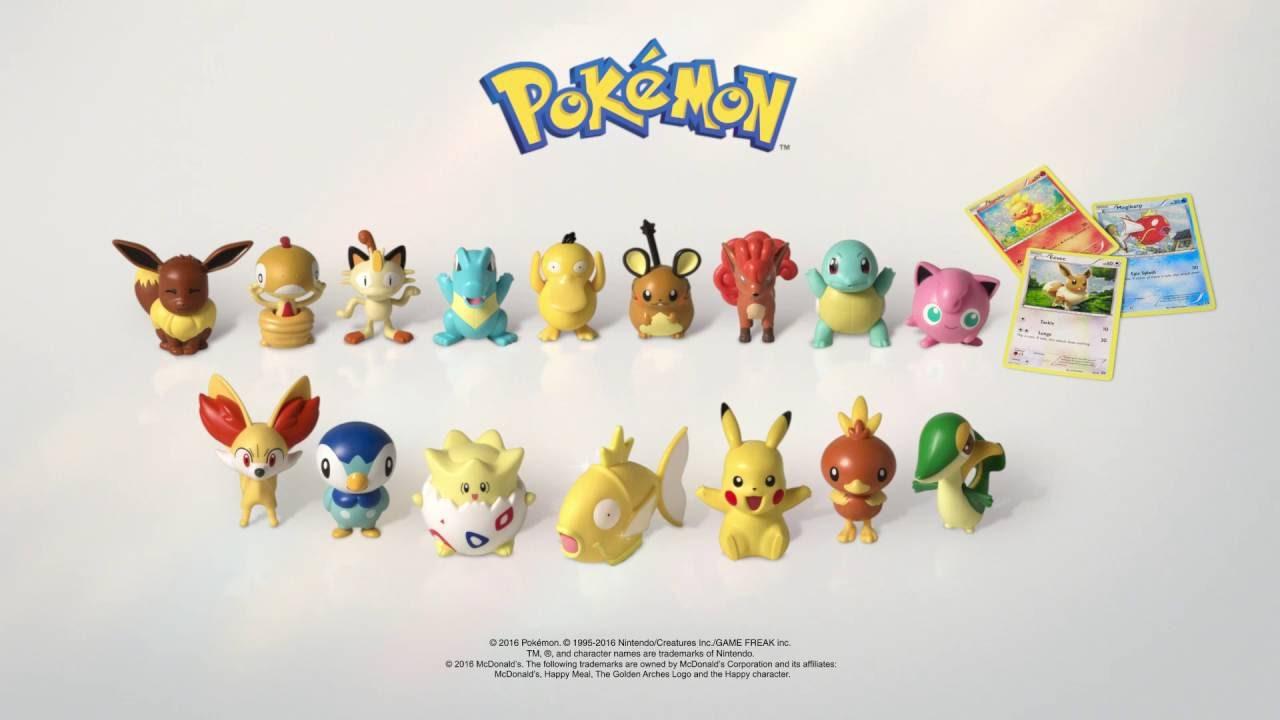 Kustosz Co Można zignorować happy meal zabawki pokemon..
