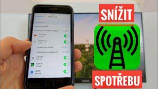 ✅ Jak snížit spotřebu mobilních dat na iPhonu?