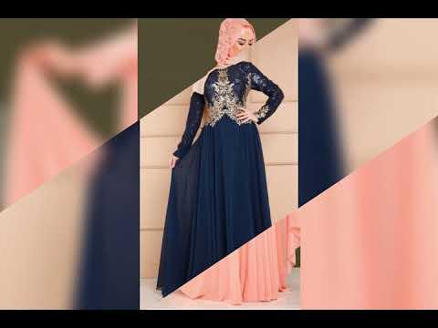 5620a56d3 احدث الفساتين التركية 2018😍😍 - YouTube
