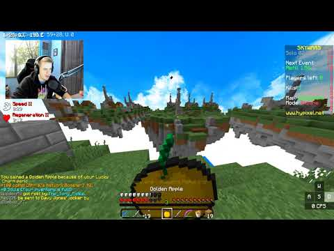 Let's have a chat... (Minecraft Skywars)