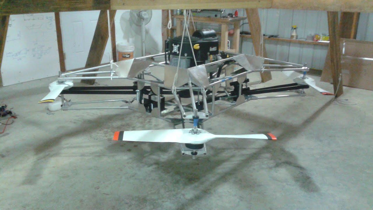 Goliath - A Gas Powered Quadcopter | Hackaday io