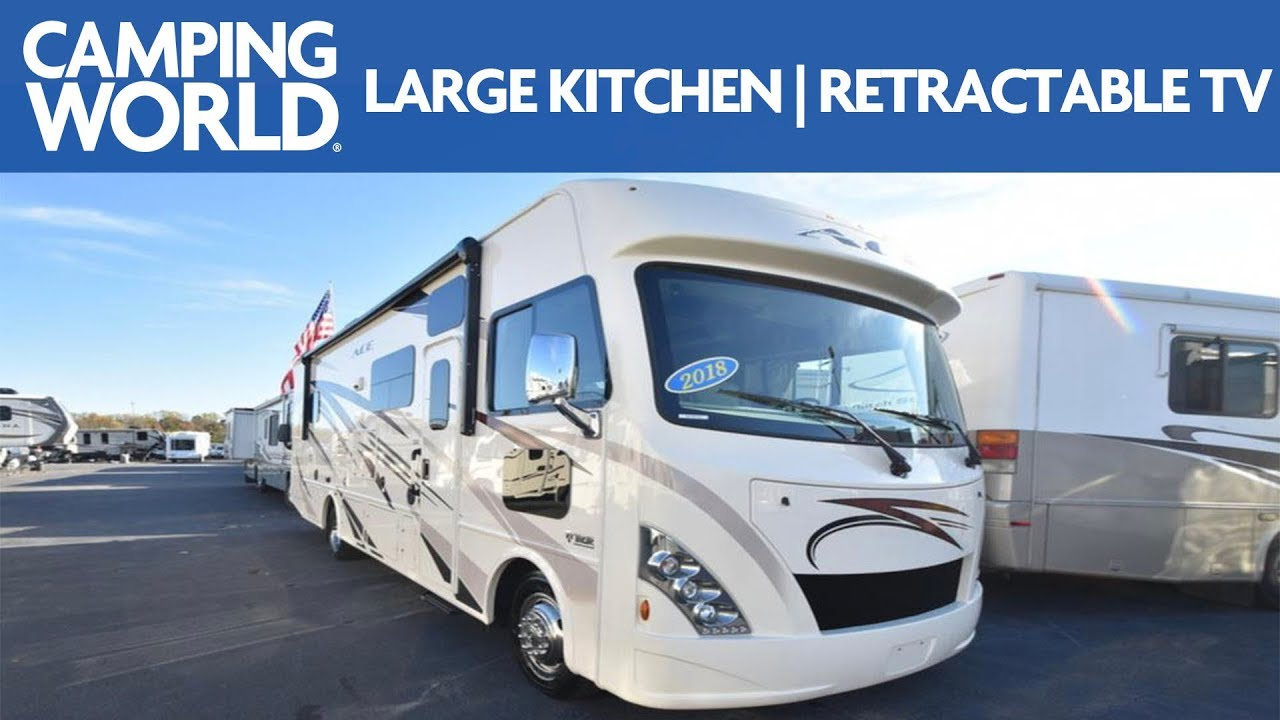 2018 Thor Ace 30 3 Class A Motorhome Rv Review Camping World