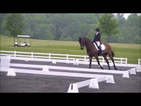Leslie Favre at Maryland Horse Trials
