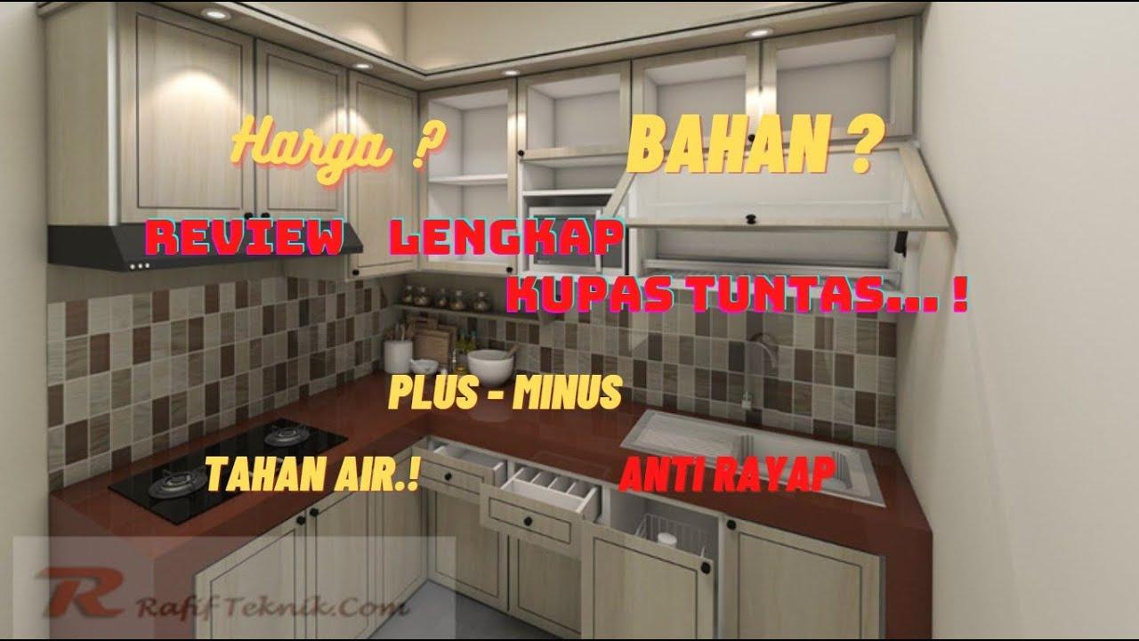Harga Kitchen Set Pvc Per Meter Lihat Di Deskripsi Linknya Youtube