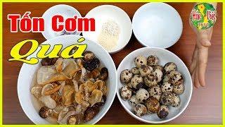 Trứng Cút Kho Mộc Nhĩ Kiểu Này Tranh Nhau Gắp | Hồn Việt Food