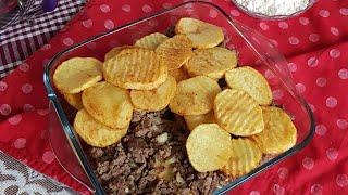 Beşamel Soslu Fırında Patates - Lezzetli Bir Fırın Yemeği