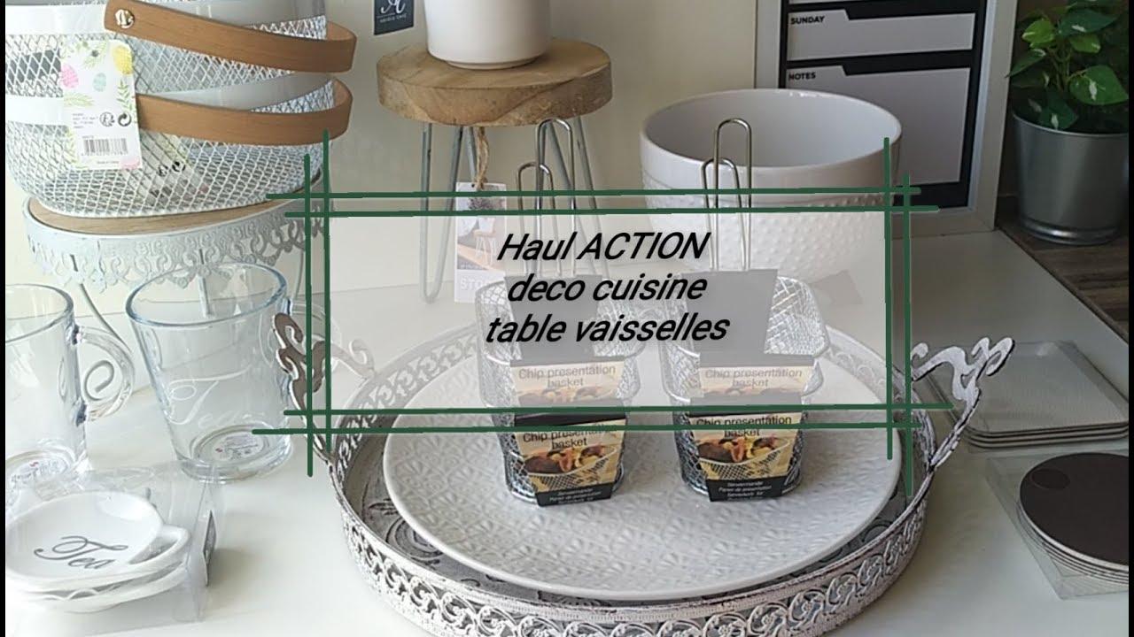 MES ACHATS CHEZ ACTION articles de table deco et cuisine مشترياتي للمطبخ  راقية و ديكور الطاولة