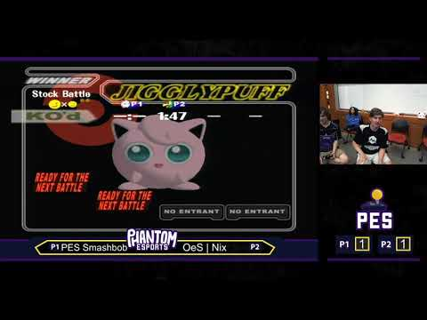 Dash Dance Revolution Melee Grand Finals: PES | Smashbob vs OeS | Nix