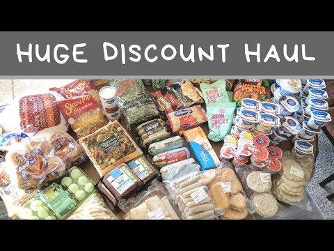 Huge American Discount Food Haul
