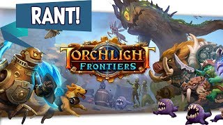 "🐲The Next BIGGEST MMO!? ""Torchlight Frontiers"" My Reaction"