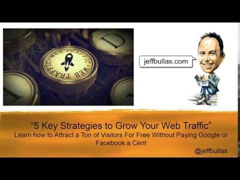 5 Key Strategies to Grow Your Web Traffic