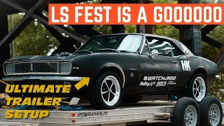 HEADING To LS Fest With My UNTESTED 67 Camaro *After I Fix The TRAILER*
