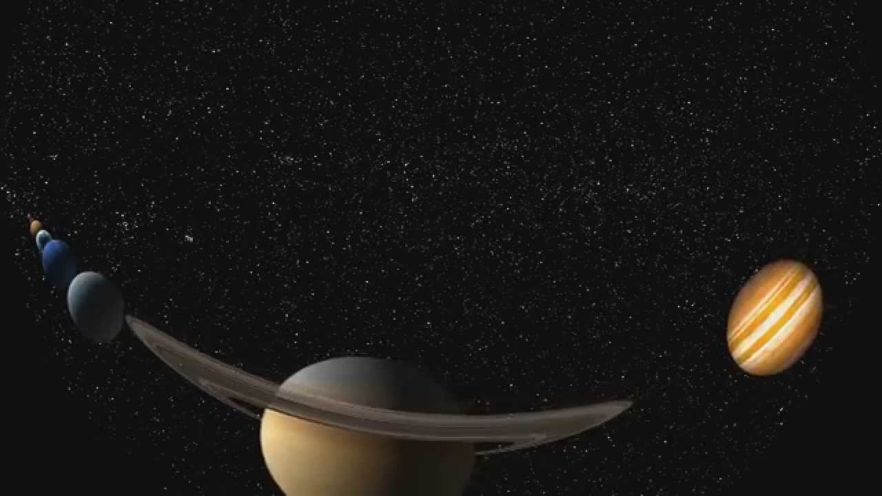 Solar System Planet Size - YouTube