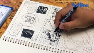 Artline Class : Comic Strip - Wibiksana Garry 'Kang Wibik'
