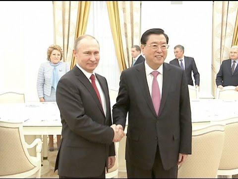 China, Russia Eye Stronger Partnership as Top Chinese Legislator Visits Moscow