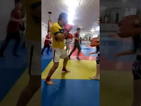 Kickboxing Cabbar Lapa tutan VÜQAR müellim