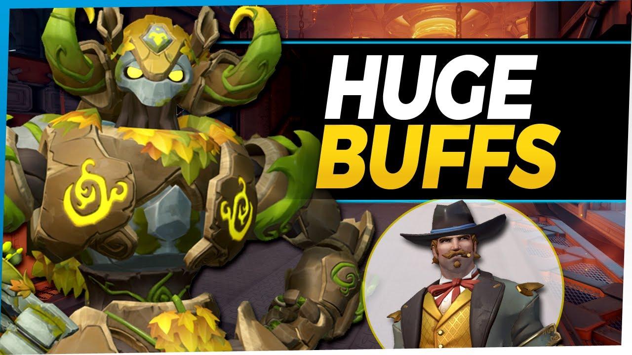 Overwatch HUGE Buffs McCree Orisa Roadhog and more!