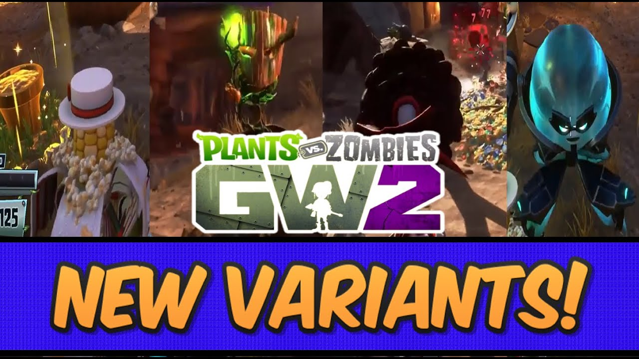 Citron from plants vs zombies garden warfare 2 plants vs zombies - Plants Vs Zombies Garden Warfare 2 Pops Corn Druid Rose Electro Citron Vampire Flower Youtube