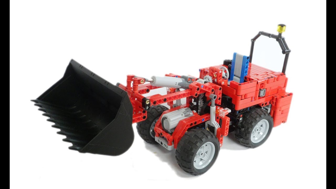 The Miniloader Small Package Big Bite Lego Ir Rc 4wd