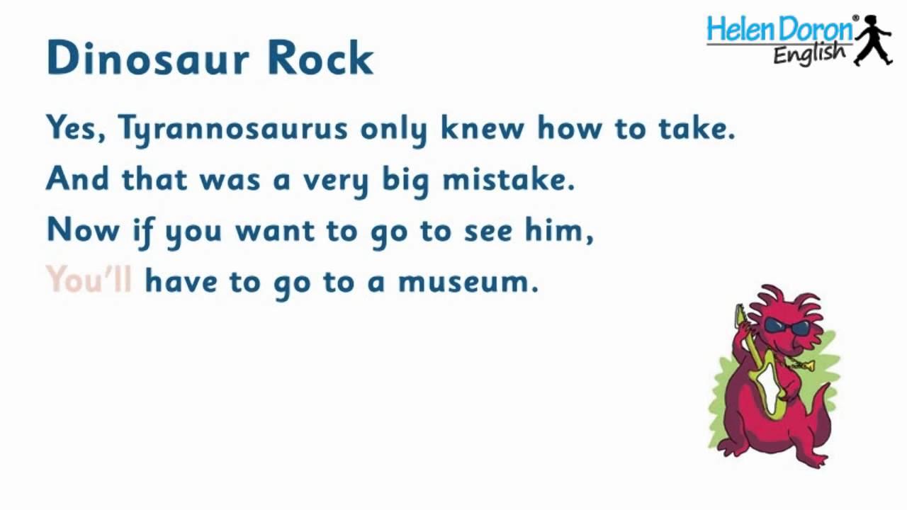 dinosaur rock with lyrics - Natrliche Hickory Holzbden