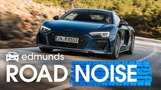 Edmunds RoadNoise | Audi R8, BMW 8 Series, Acura ILX, and a burnout from an EV!