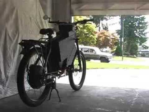 The Ultimate Diy Electric Bike 50 Mph Youtube