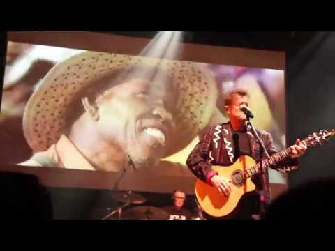 """Johnny Clegg - """"Take My Heart Away"""" LIVE (with Special Intro)"""