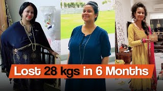 Weight Loss Journey: From 80 kgs to 52 kgs |  Fat to Fit  | Fit Tak
