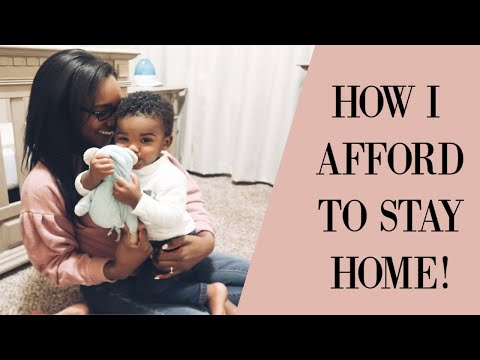 HOW I AFFORD TO STAY HOME | TIPS TO BECOME A STAY AT HOME MOM | Krista Bowman Ruth