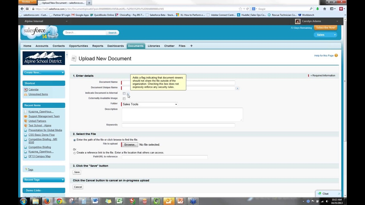 Document Management and Content Libraries in Salesforce