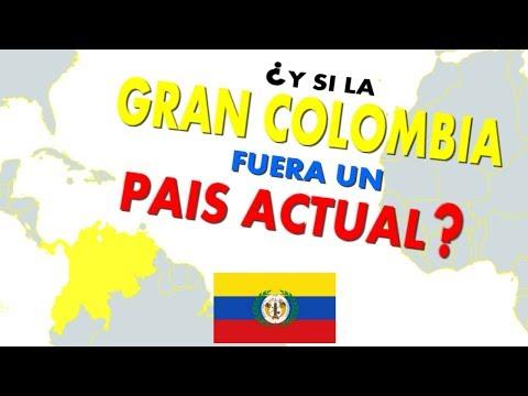 ¿Y si la Gran Colombia fuera un país actual?