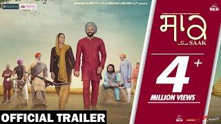 Saak (Official Trailer) Jobanpreet Singh | Mandy Takhar | In Cinemas 6th Sept | White Hill Music