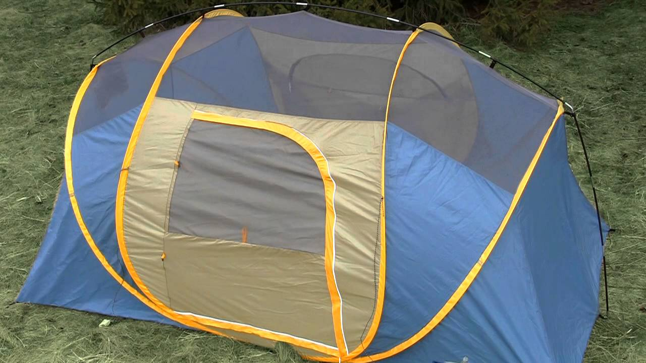 & Broadstone Pop-up 6 Person Tent From Canadian Tire - YouTube