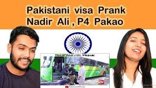 [9.75 MB] Indian Reaction on Nadir Ali Prank | Pakistani visa Prank | P4 Pakao | Swaggy d