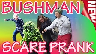 Bushman Scare Prank   Cops Called  RRyanlewis Pranks