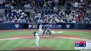 Devers Red Sox Homers Aroldis Chapman  Yankees 103 mph fastball HD Full Version  LIVE