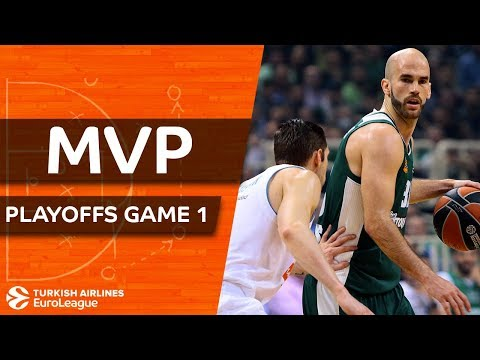 Turkish Airlines EuroLeague Playoffs Game 1 MVP: Nick Calathes, Panathinaikos Superfoods Athens