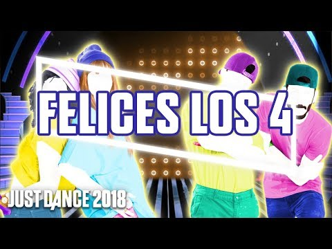 Just Dance 2018: Felices los 4 by Maluma | Fanmade Mashup