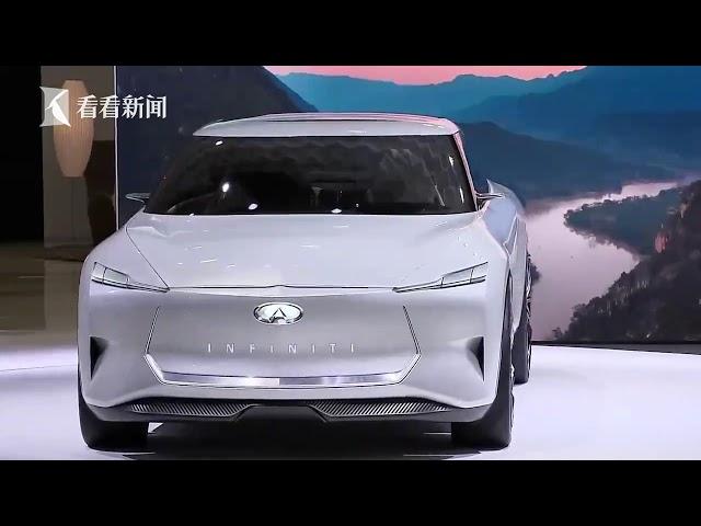视频|2019上海车展|英菲尼迪发布全新概念车