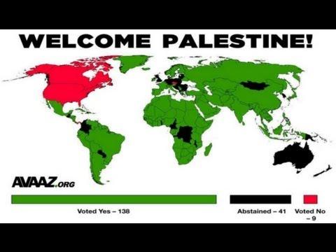 "Palestine Wins ""Non-member Observer Status"""