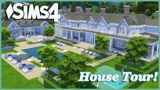 The Sims 4 - Beyonce Summer Home (House Tour!)
