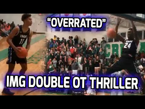 IMG Academy Gets TESTED! Kevin Knox's Little Bro & Tampa Catholic Take IMG Into DOUBLE OVERTIME! 🍿