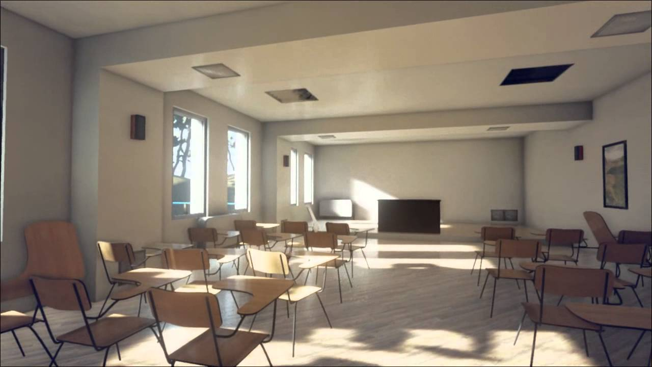 Unreal engine 4 interior level test wip youtube for Unreal engine 4 architecture
